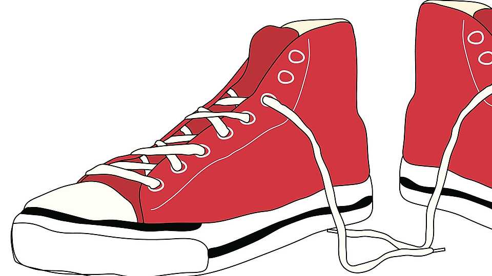Shoe Lace Clipart.