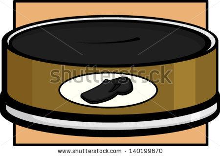Shoe Polishing Paste Stock Vector Illustration 140199670.