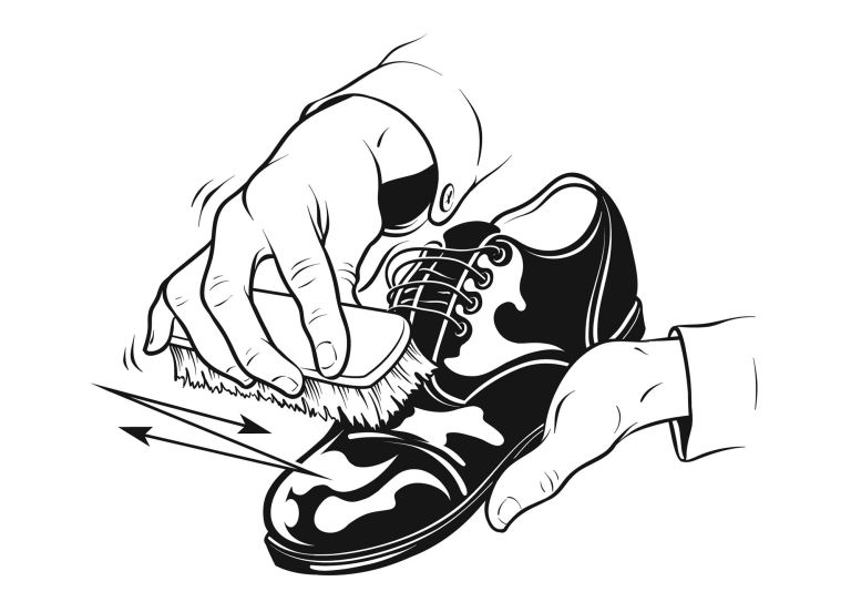 How to Shine Your Shoes.