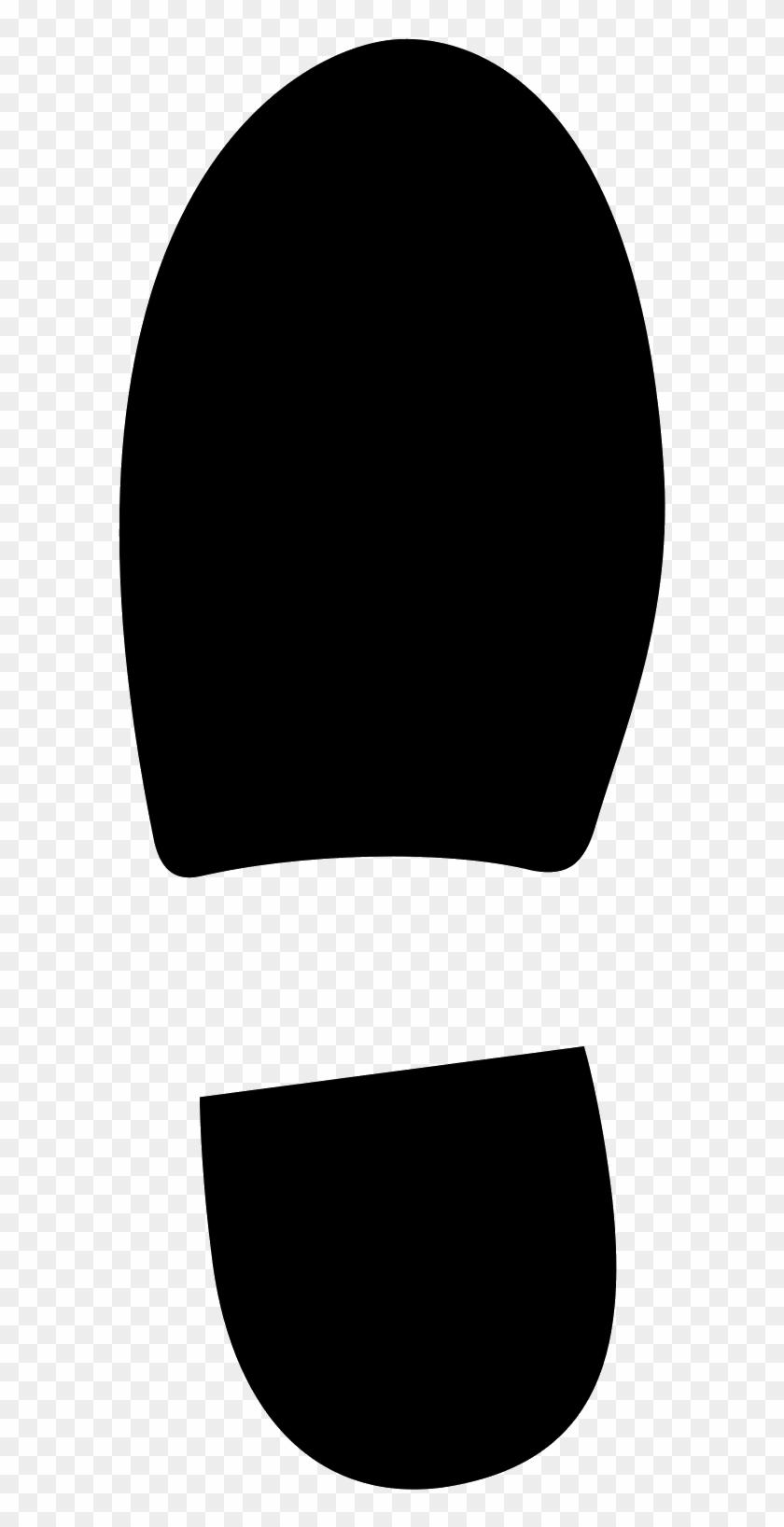 Shoe Print Icon.