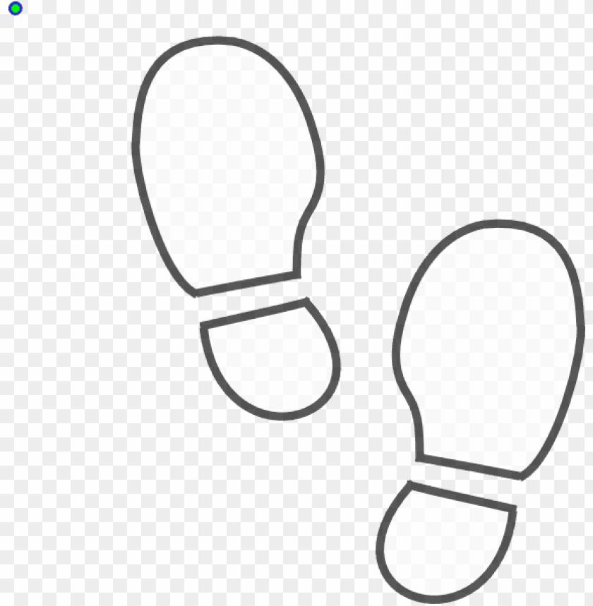 shoe print outline printable.