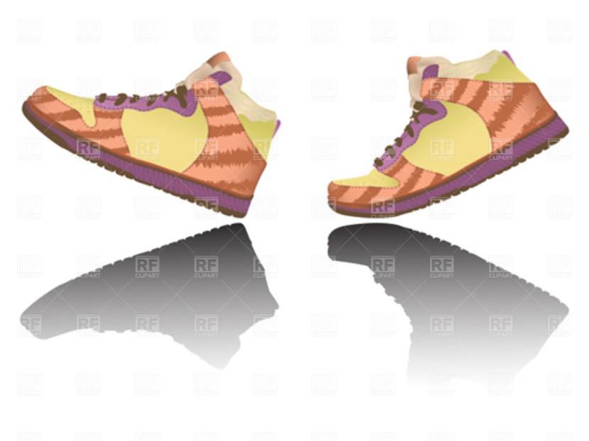 Walking Feet Clip Art.