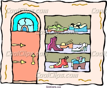 Shoe store clipart 6 » Clipart Station.