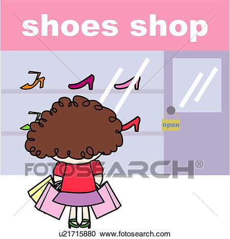 Shoe store clipart 7 » Clipart Station.