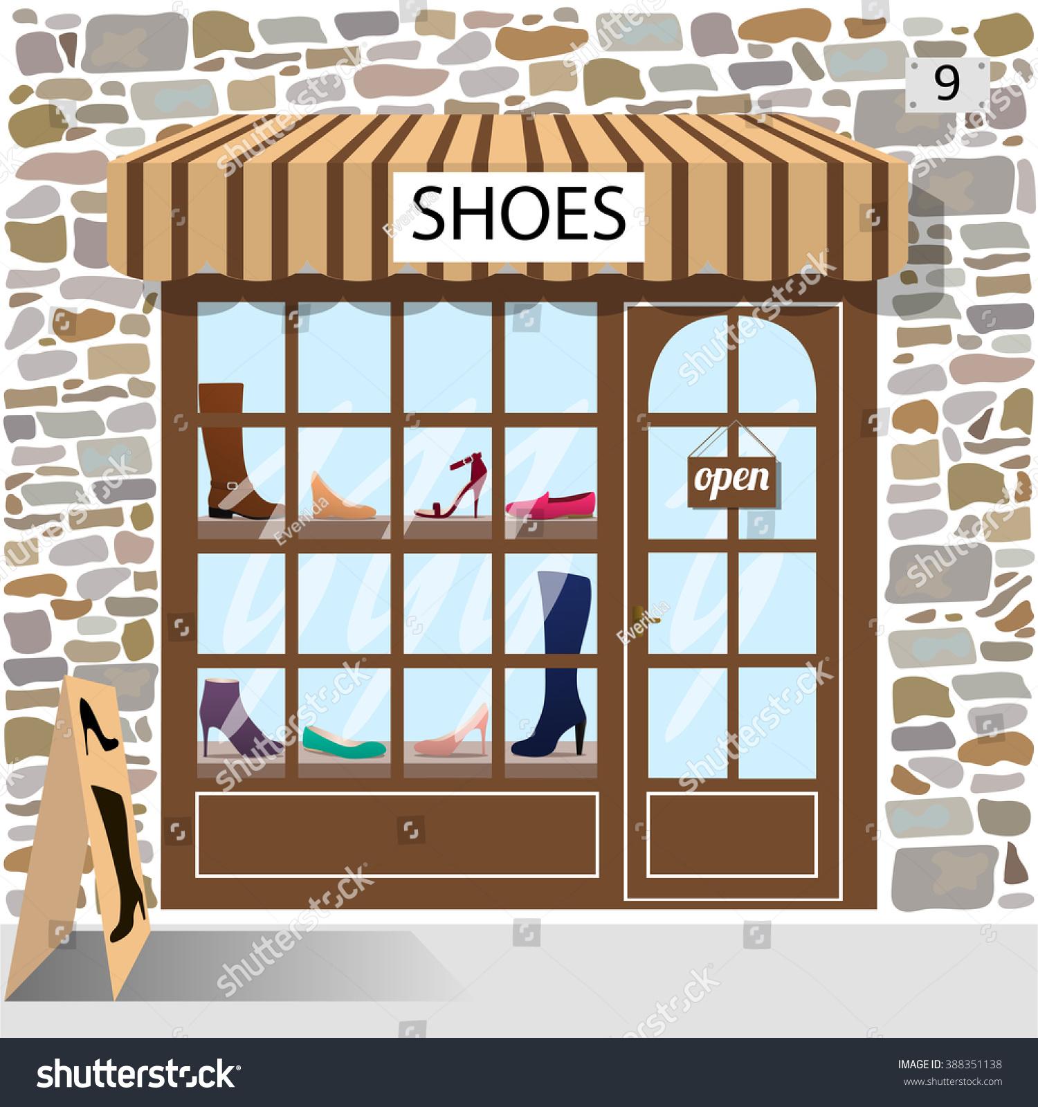 Shoe Store Clipart.