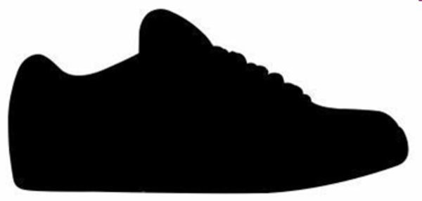 Shoe Silhouette Vector at GetDrawings.com.