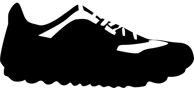 Free Shoe Silhouette Clip Art, Download Free Clip Art, Free.