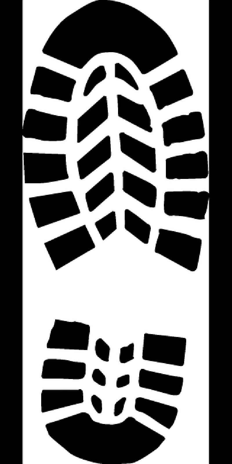 Clipart shoe soles.