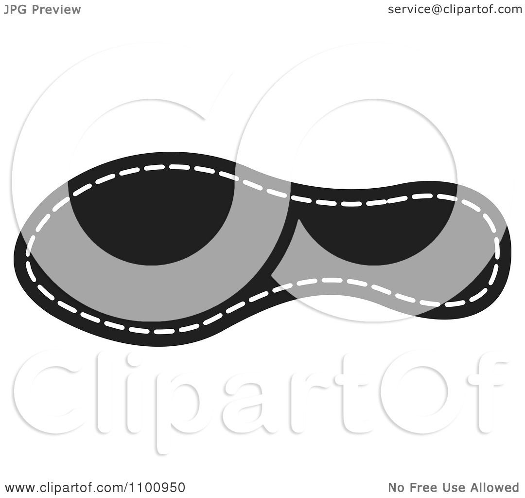 Clipart Black And White Shoe Sole.