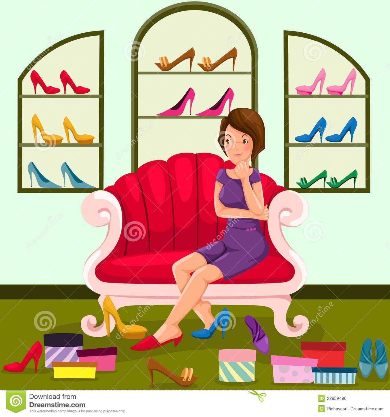 Shoe clipart shoe shop.