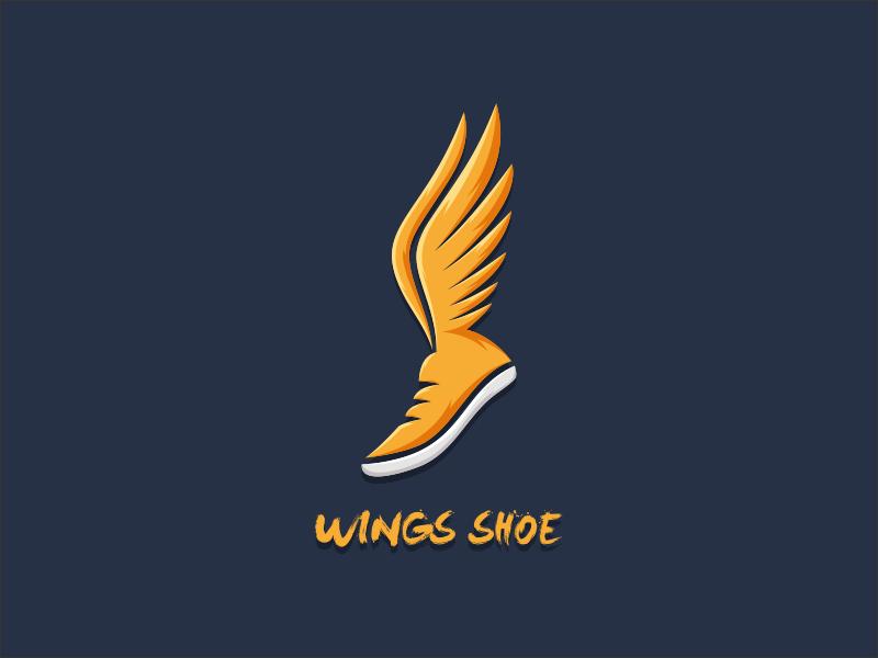 Wings Shoe by cozz_design on Dribbble.