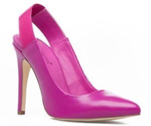 Details about NEW ShoeDazzle Darlene Women\'s 8.5 Pointed Toe Heels Pumps  Fuchsia Purple Pink.