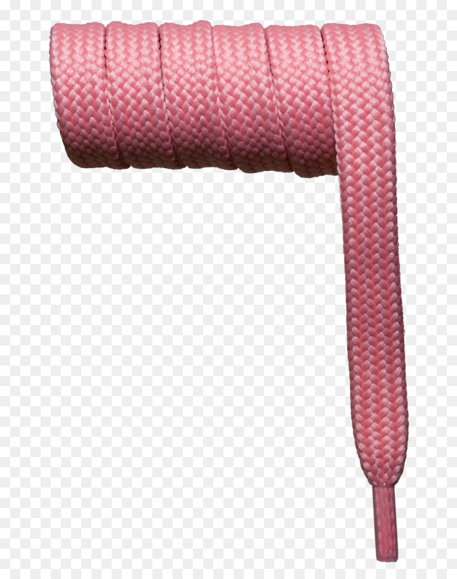 Shoelaces Pink png download.