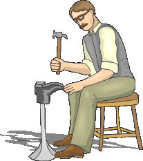 Shoemaker clipart.