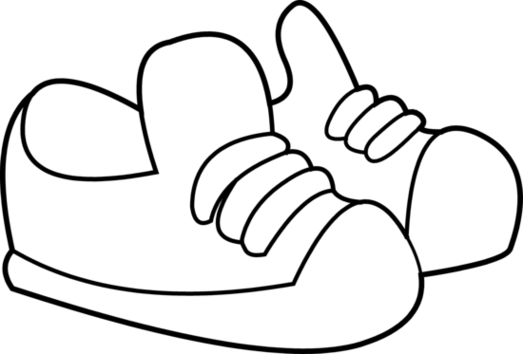 Shoes clip art black and white clipart free to use resource.