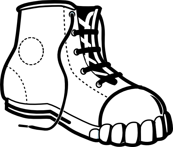 Free Black Shoes Cliparts, Download Free Clip Art, Free Clip.