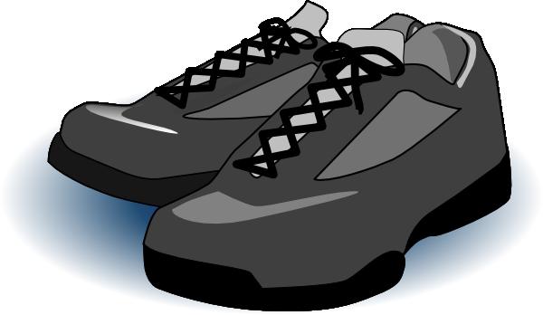 Clip Art Tennis Shoes Clipart.