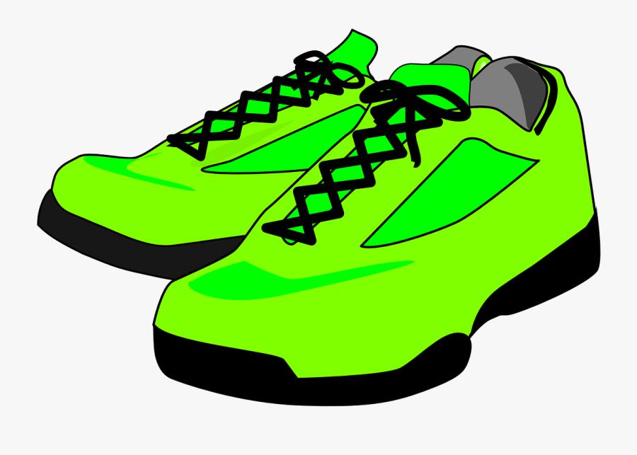 Sneakers Vector Graphics.