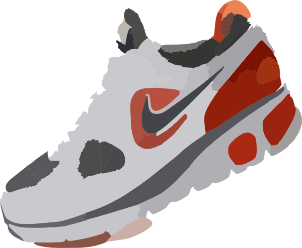 Nike Free Sneakers Shoe Clip art.