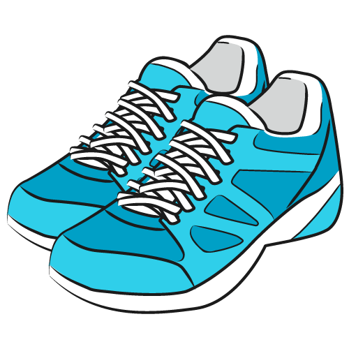 Shoe Walking Sneakers Clip art.