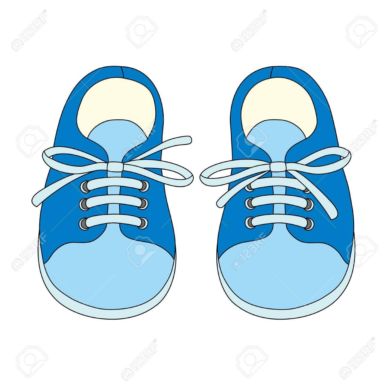 Kids Shoe Clipart.