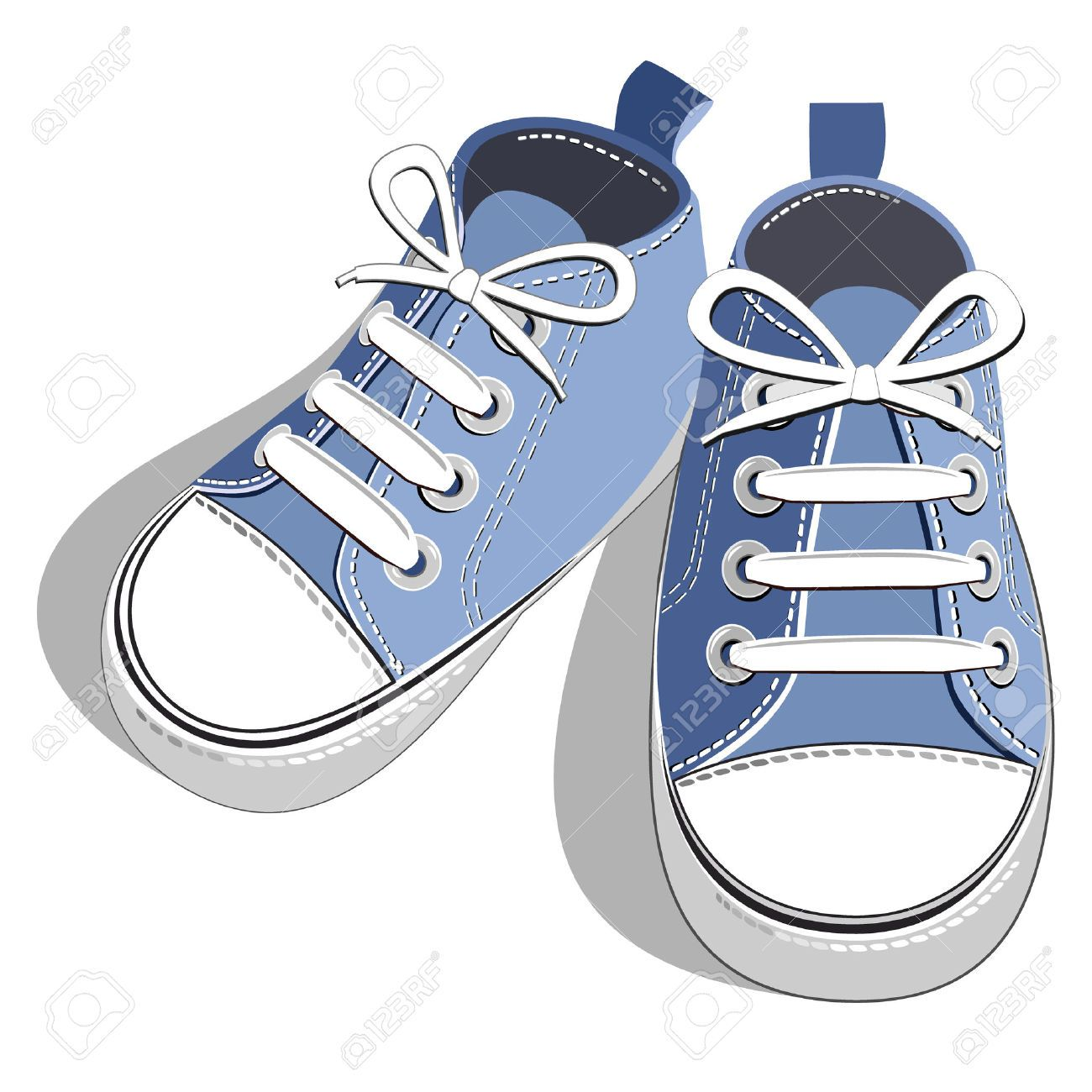 Walking Shoes Stock Illustrations, Cliparts And Royalty Free.