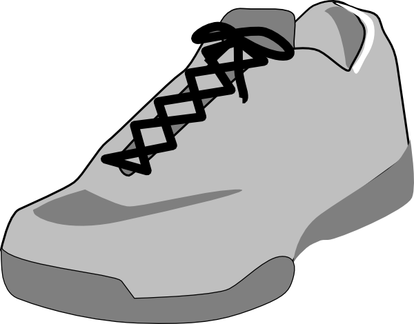Free Outline Of Shoe, Download Free Clip Art, Free Clip Art.