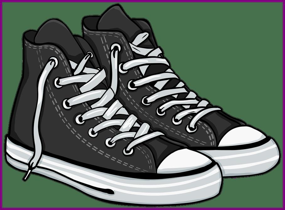 Clip Art Free Download Tennis Shoes Clipart.