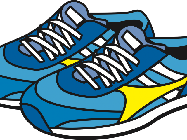 Running Shoes Clipart High Top Sneaker.