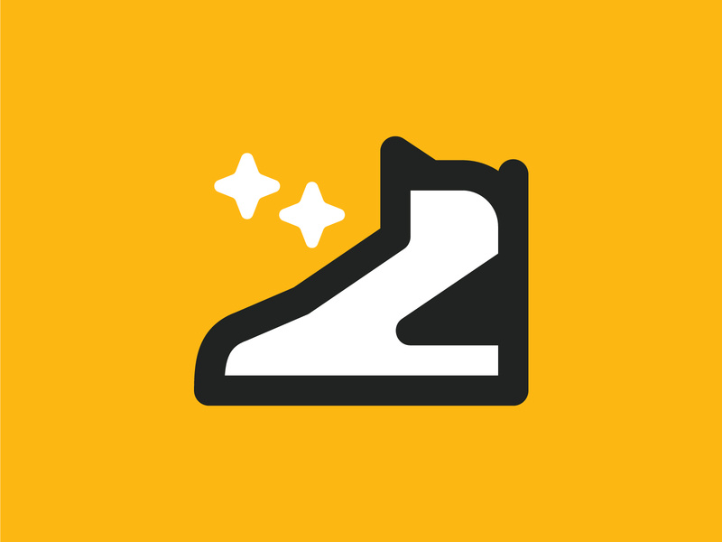 Another Unused Shoe Company Logo by Ross Shafer on Dribbble.
