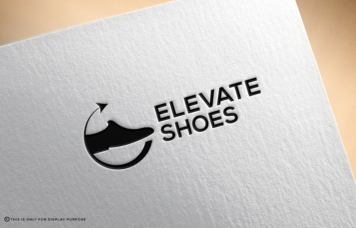 Masculine, Modern, It Company Logo Design for ELEVATE SHOES.