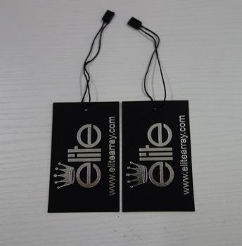 Paper Hang Tag Custom Company Logo Printing Shoes Hang Tag.