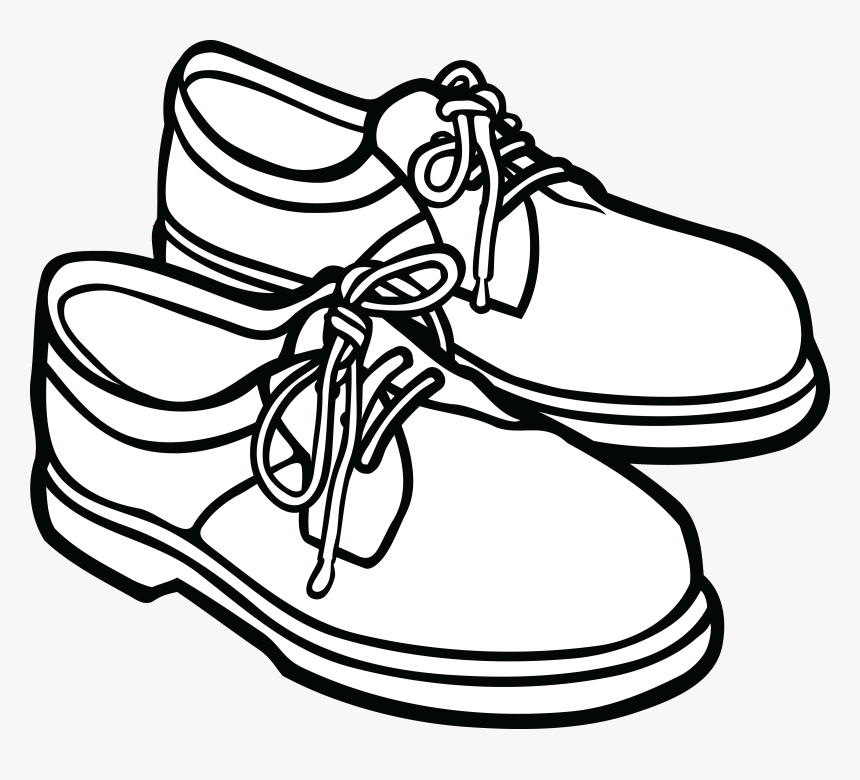 Free Clipart Of A Pair Of Mens Shoes.