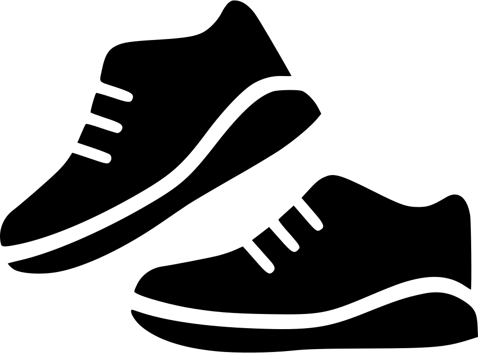 Sport Shoes Pair Run Svg Png Icon Free Download (#530722.
