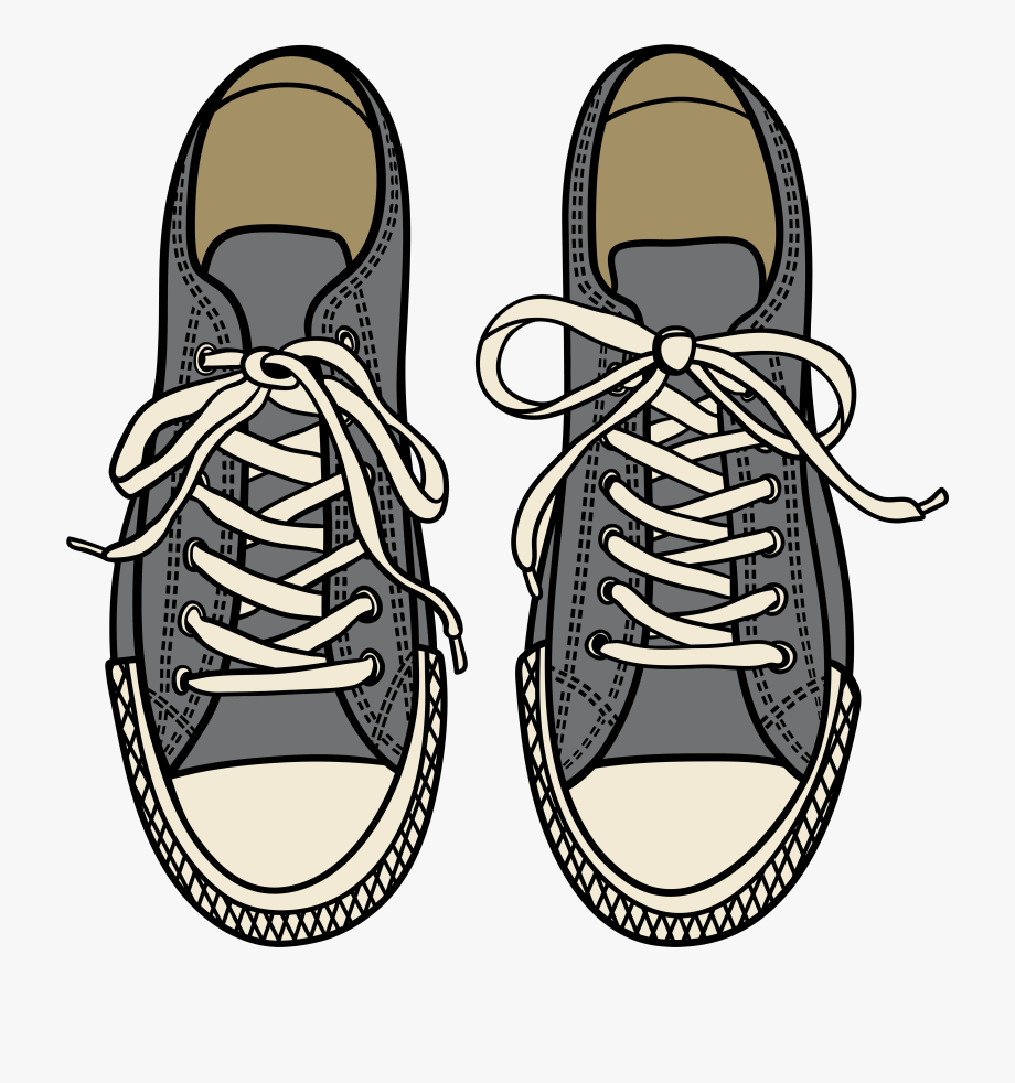 Cool Design Shoes Clipart Free 1 Black And White Images.
