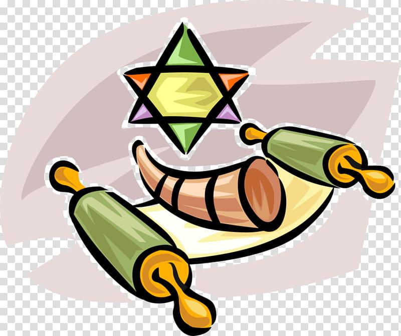 Banana Drawing, Shofar, Sefer Torah, Judaism, Shofar Blowing.