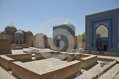The Architecture Of Samarkand Editorial Photo.