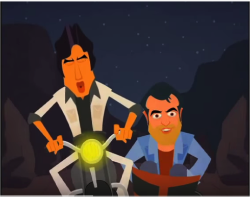 Kitne Sholay The? Animated Parodies of a Classic Bollywood Film.