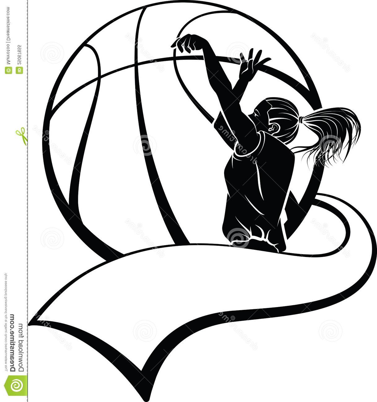 Basketball Player Shooting Clipart Color.