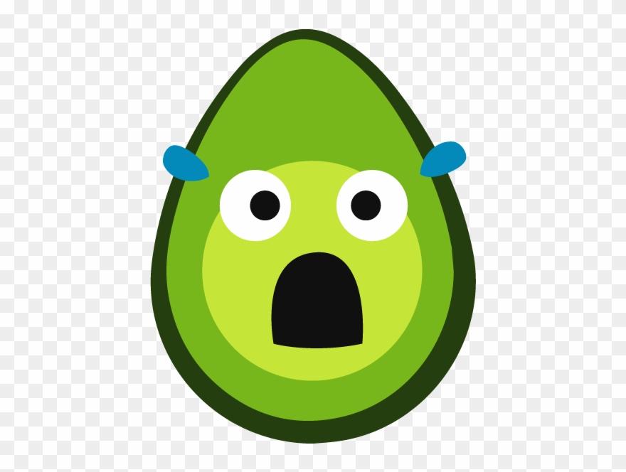 Shook Avocado Clipart (#2609850).