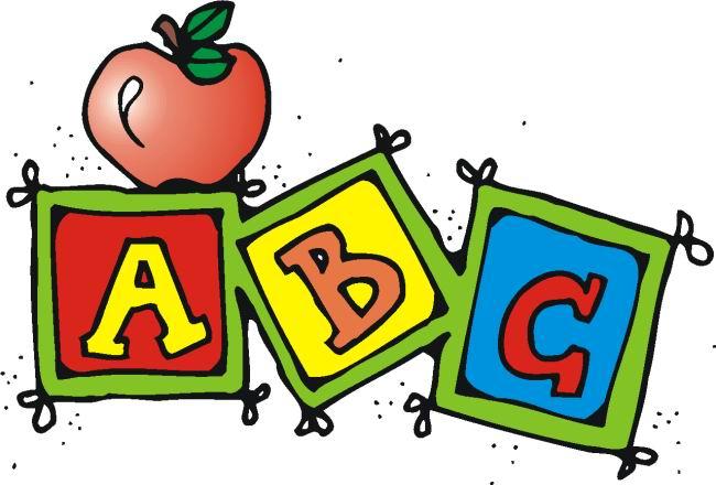 Abc School Clipart.