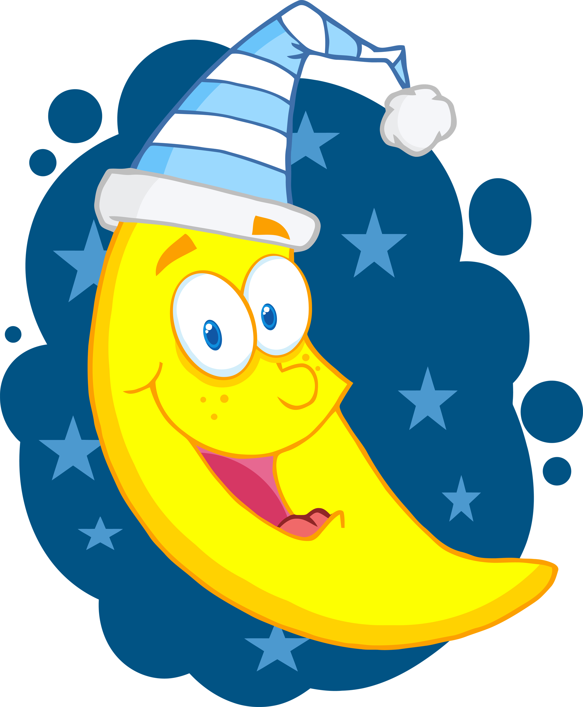 Moon Clipart For Kids.
