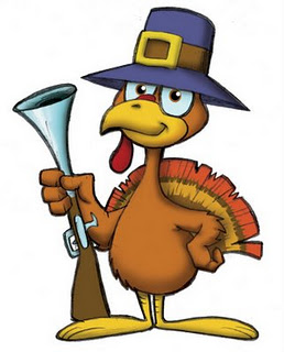 Turkey shoot clip art.