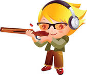 Shooting Range Clipart.