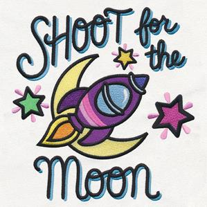 Shoot For The Moon Clipart Clipground