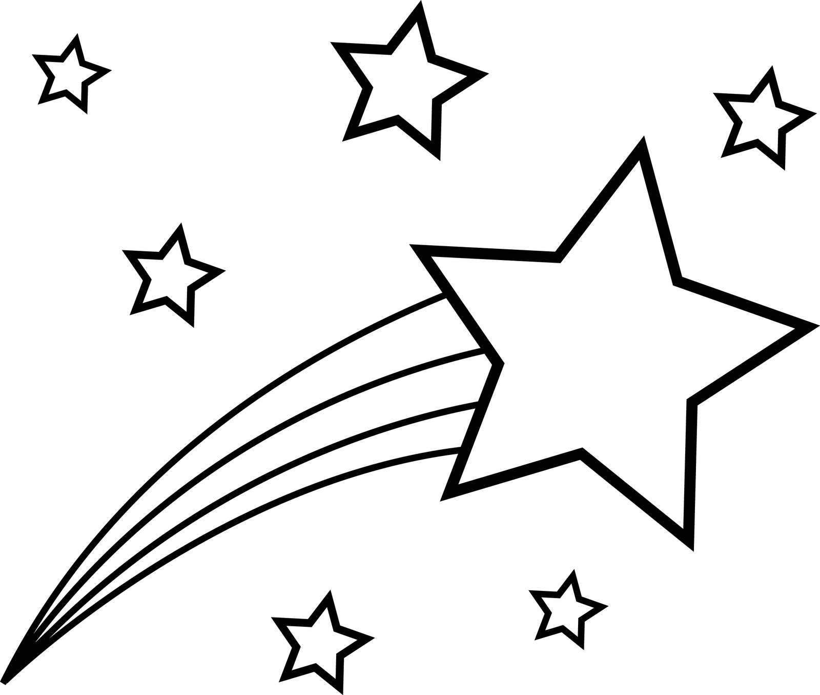 Best Shooting Star Clipart #13013.