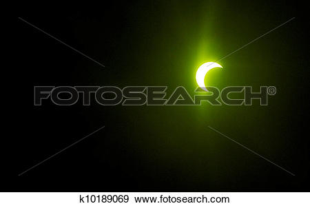Stock Photograph of Moon eclipsing the sun May 20th, 2012 shoot.