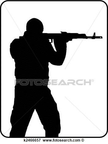 Shooter clipart.