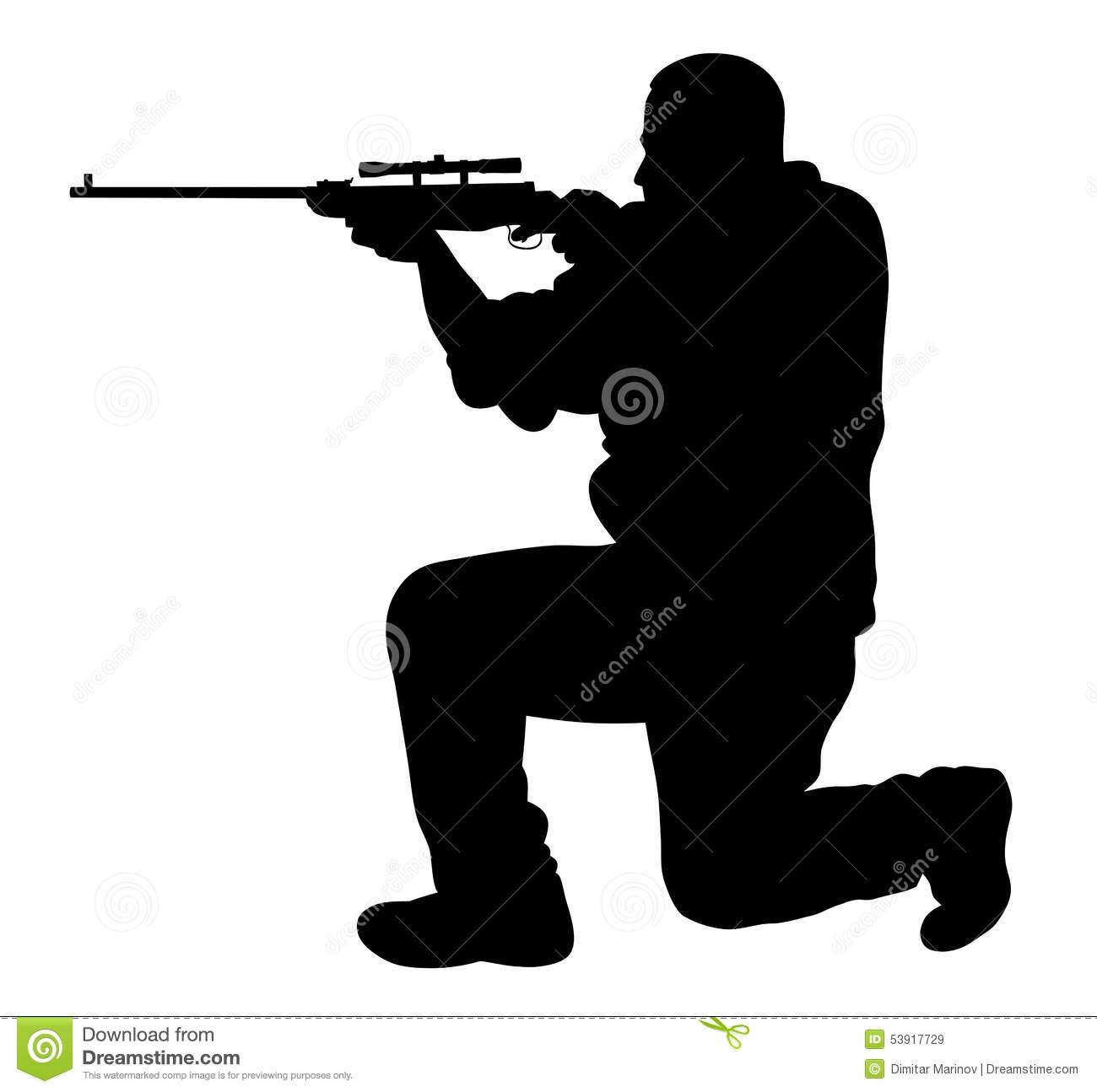 Shooter Clip Art.