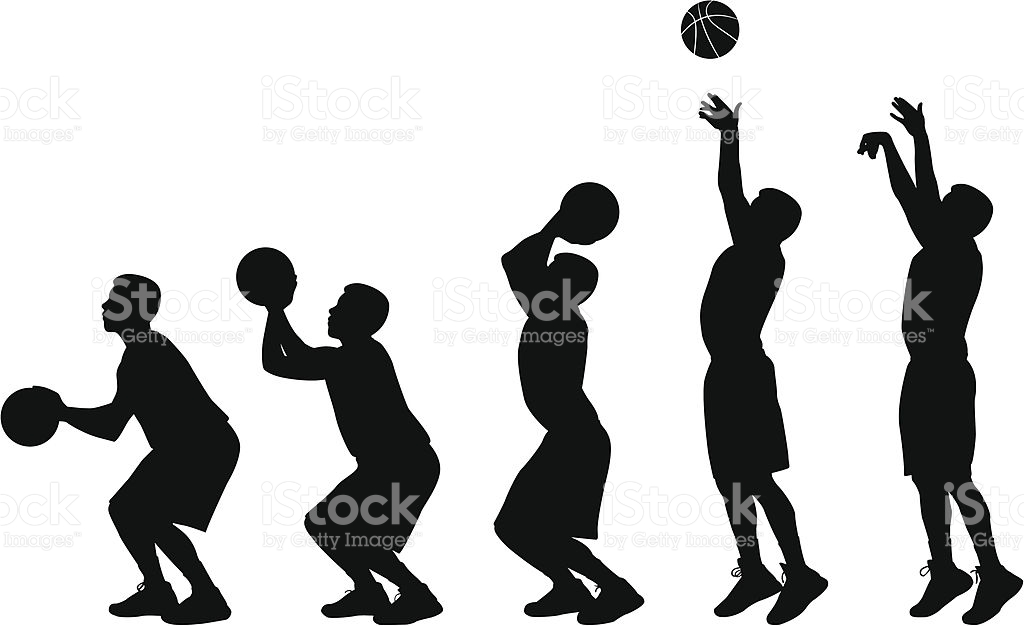 Mens Basketball Sequence stock vector art 166053299.